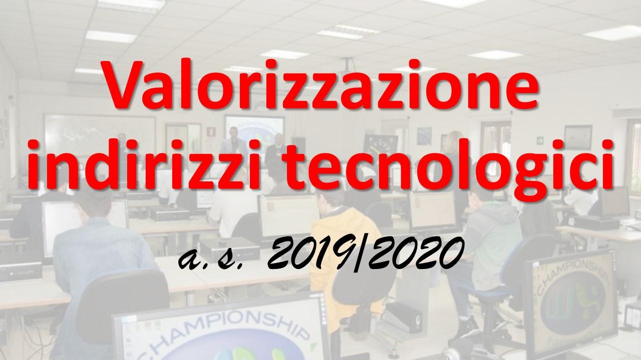 Progetto 'Valorizzazione degli indirizzi tecnologici'
